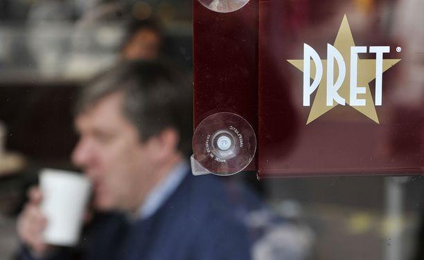 Patonki oli ostettu Pret a Manger -ketjun kahvilasta.