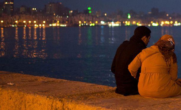 Tämä on nykyään Egyptissä harvinainen näky.