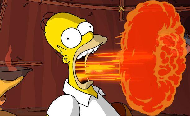 Homer Simpsonia on kuvailtu karikatyyriksi stereotyyppisestä yhdysvaltalaismiehestä.