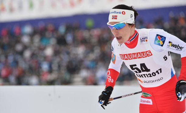 Marit Björgenin musertava ylivoima on leimannut Lahden MM-latuja.