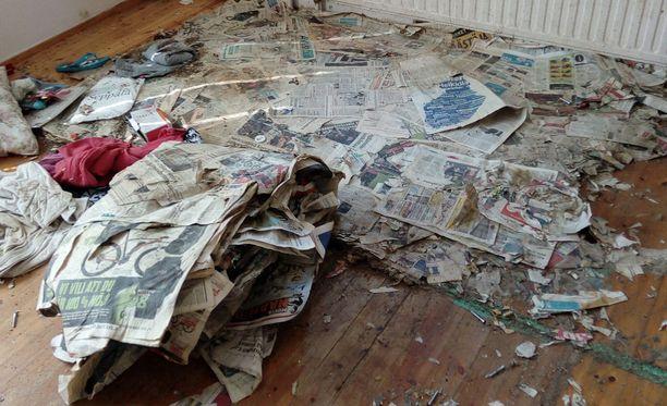 Talon sisältä löytyi helmikuussa viisi koiraa ja kaksi kissaa. Tiedossa ei ole, kuinka kauaksi aikaa eläimet oli jätetty yksin.