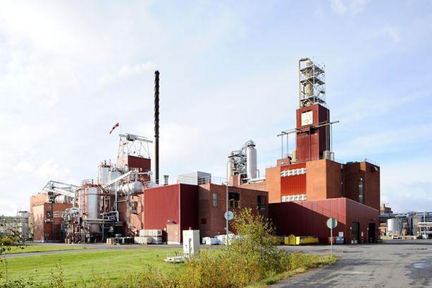 Arizona Chemicalin tehdas Oulussa.
