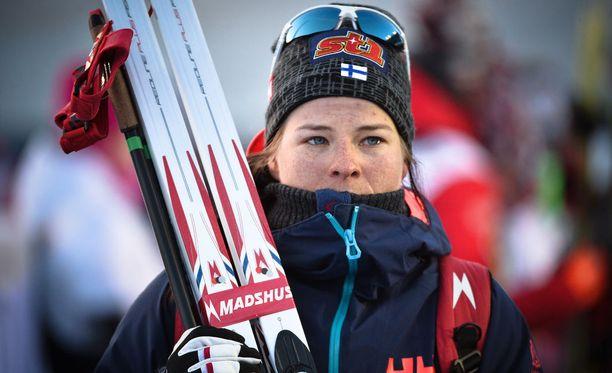 Krista Pärmäkoski joutuu kuumeen vuoksi pakkolepoon.