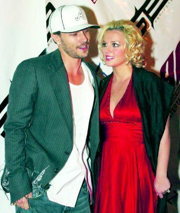 Kevinillä on yhä toiveita Britneyn suhteen.