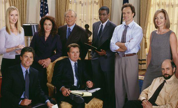 West Wing on Aaron Sorkinin luoma sarja.