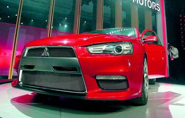 TYKKI Mitsubishi Evo 10:n konseptiversio kantaa vielä nimeä X.