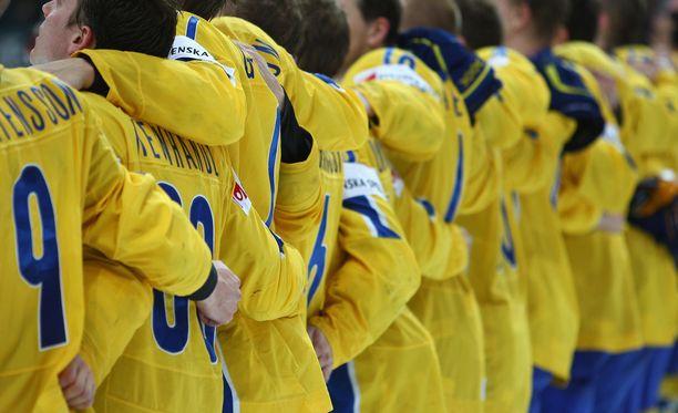 Suuren surun kohdanneet Ruotsin nuorten maajoukkuepelaajat ovat tukeneet toisiaan. Kuvan pelaajat eivät liity tapaukseen.
