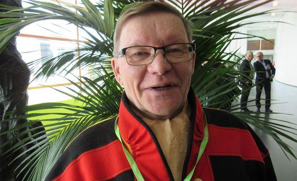 Veikko Guttorm, 70, palveli rajavartiolaitosta 30 vuotta Norjan rajalla ja pitää avoimia Schengen-rajoja uhkana turvallisuudelle ja porttina huumeille.