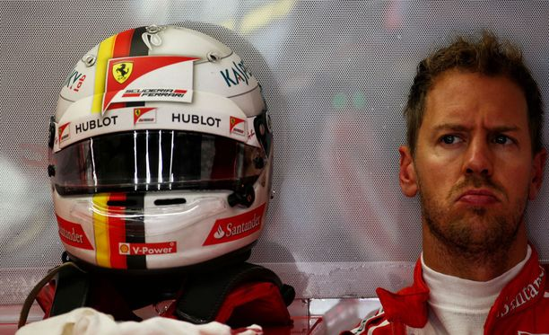 Sebastian Vettel jatkaa Ferrarilla.