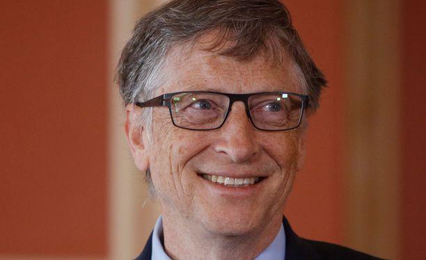 Microsoftin perustaja Bill Gates on maailman rikkain.
