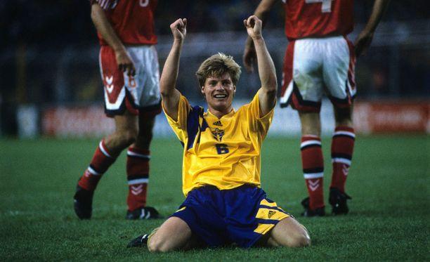 Stefan Schwarz lukeutui Ruotsin MM-pronssijoukkueen tähtiin.