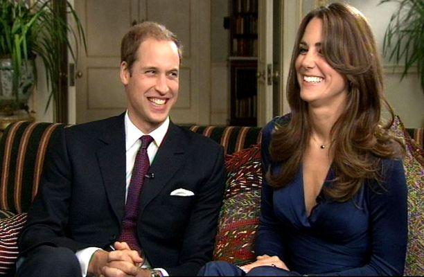 LUONTEVIA Williamin ja Katen ensimmäinen yhteishaastattelu sujui rennossa tunnelmassa.