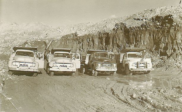 1960-luku oli yleisen infrastruktuurin rakentamisen kulta-aikaa.