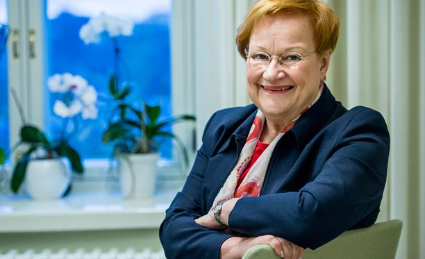 Päivän meili menee presidentti Tarja Haloselle.