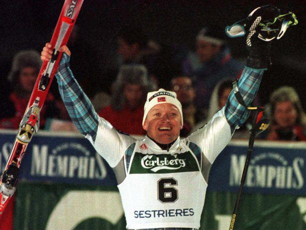 Finn Christian Jagge oli 1990-luvun pujottelutähti.