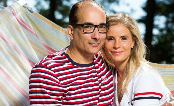 Heikki Lampelan ja Hanna Kärpäsen suhde on kipuillut aiemminkin. Nyt he ovat päätyneet eroon.