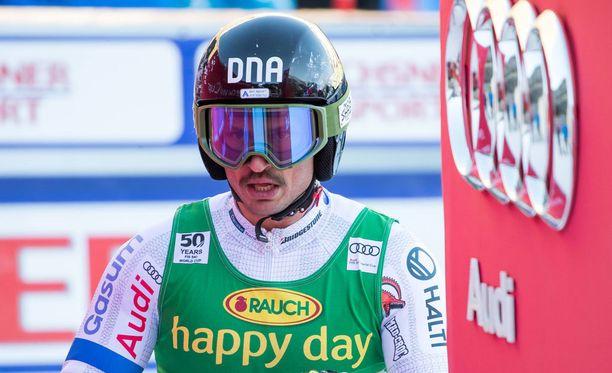 Marcus Sandell haluaa yhä kilpailla maailman huipulla.