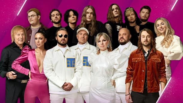 Joku heistä edustaa Suomea Rotterdamin Euroviisuissa.