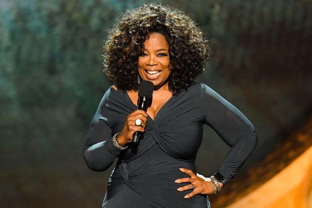 Oprah Winfrey tunnetaan omaa nimeään kantavasta television keskusteluohjelmasta.