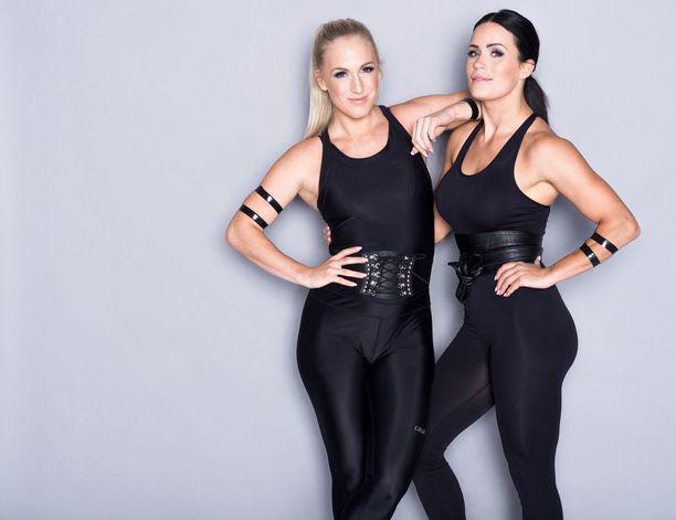 Nanna Karalahti ja Martina Aitolehti tietävät, että urheilun, työn ja äitiyden yhdistäminen vaatii kikkailua.