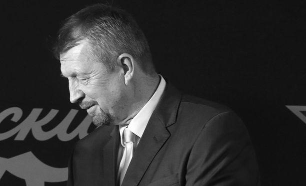 Sergei Gimajev menehtyi kesken ikämiesottelun.