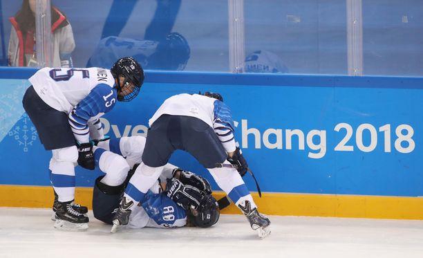 Ronja Savolainen loukkaantui ilkeän näköisessä tilanteessa.