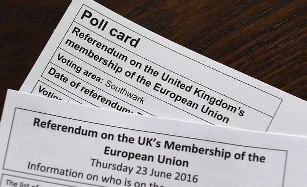 Britit äänestävät maansa EU-jäsenyyden jatkosta torstaina.