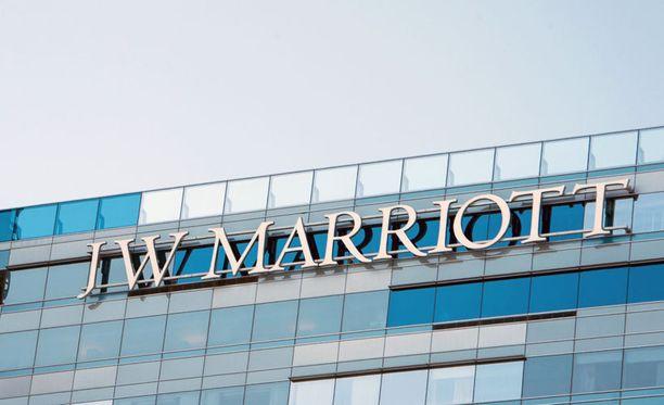 Marriott-hotelli Los Angelesissa Yhdysvalloissa.