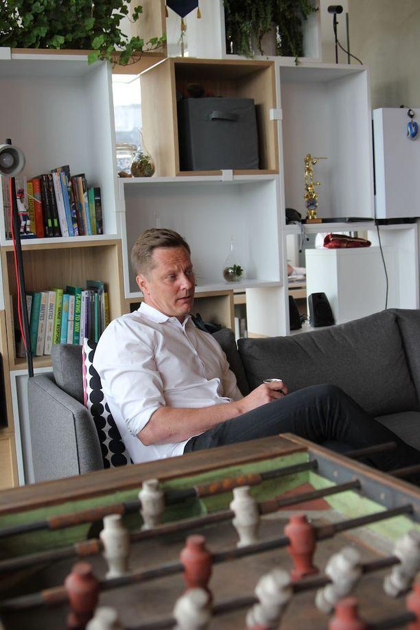 Joonas Makkonen muutti kaksi ja puoli vuotta sitten Yhdysvaltoihin perustamaan Reaktorin uutta toimistoa.
