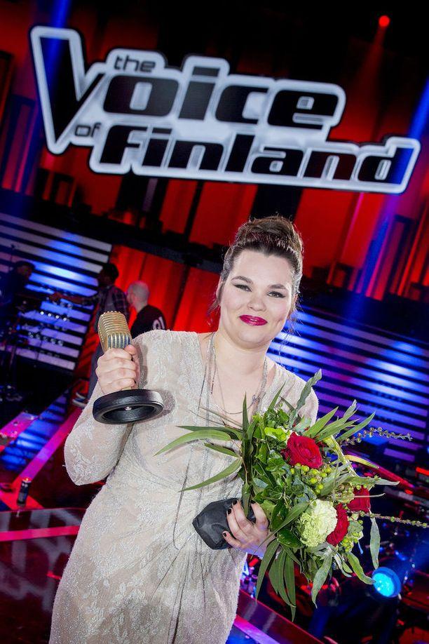 Voittaja Saija Saarnisto.