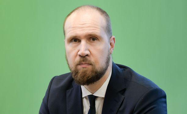 Vihreiden varapuheenjohtaja, kansanedustaja Touko Aalto pettyi siihen, että hallitus ei edennyt perhevapaiden uudistamisessa.