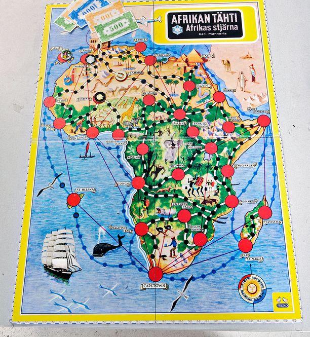 Kari Mannerla kehitti Afrikan tähden yli 60 vuotta sitten.