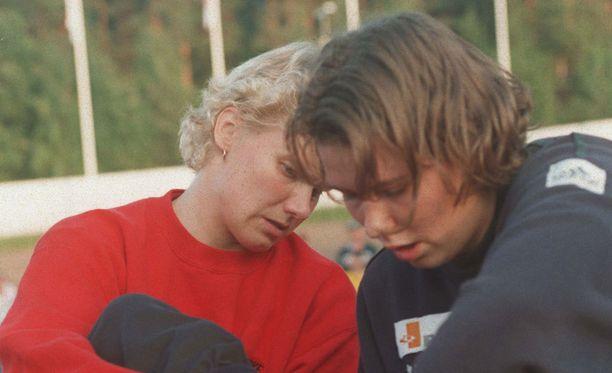 Heli Rantanen ja Mikaela Ingberg toivat Suomelle menestystä mutta myös taistelivat keskenään mitaleista.