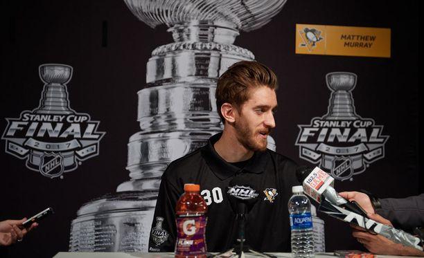Matt Murray voitti jo toisen Stanley Cupinsa, vaikka oli tällä kaudella vielä NHL-tulokas.