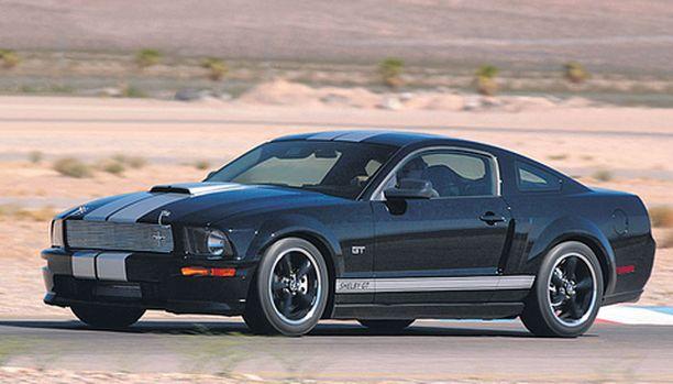 Tämän auton, Shelby GT Fastback Mustangin valmistus alkoi tammikuussa 2007 ja se on sarjansa ensimmäinen auto, hinta Barrett-Jacksonin huutokaupassa 660 000 dollaria.
