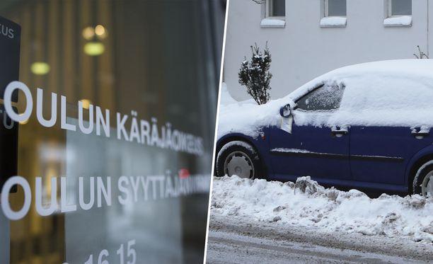 Oulun käräjäoikeus käsitteli poikkeuksellista vapaudenriistoa.