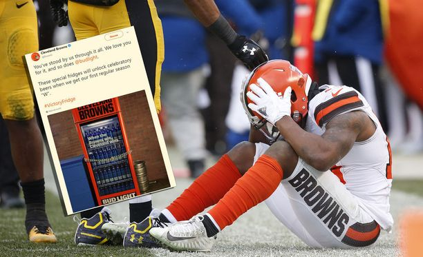 17 ottelua peräkkäin hävinneellä Brownsilla on paikka antaa uskollisille kannattajilleen takaisin.