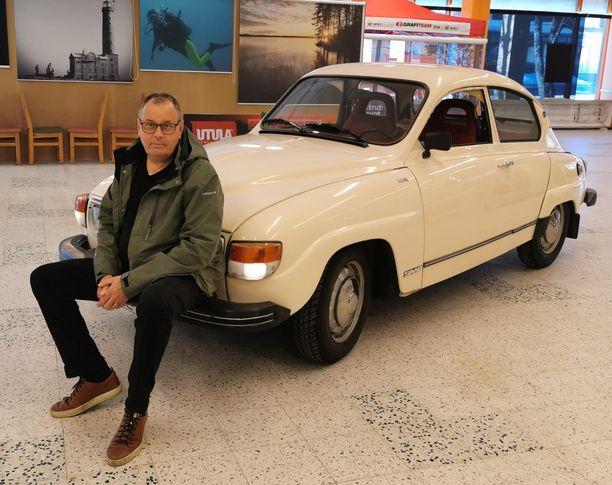 Marko Nikkanen & Saab 96 GL V4 Super -78