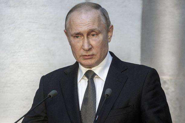 Venäjän presidentti Vladimir Putin vieraili heinäkuun alussa Roomassa.
