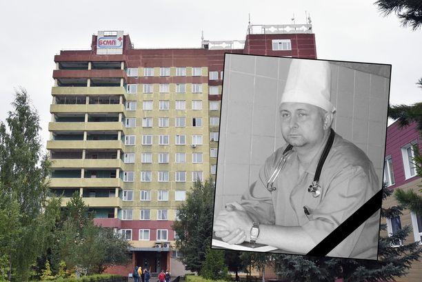 Navalnyia Omskissa hoitaneen sairaalan johtava lääkäri on kuollut.