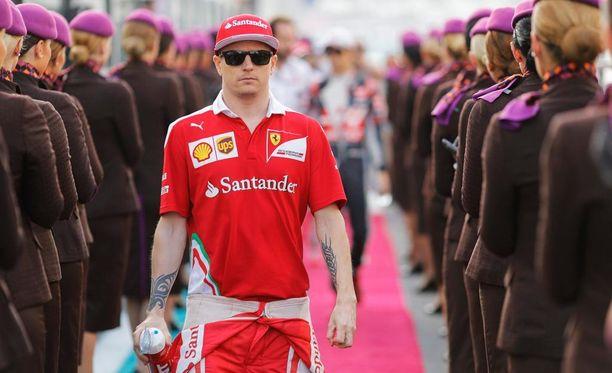 Kimi Räikkönen käänsi katseensa jo seuraavaan F1-kauteen.