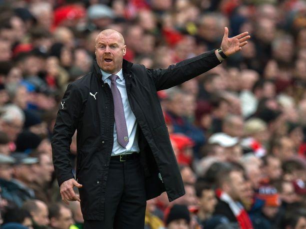 Sean Dychen manageroima Burnley kohtaa vieraskentällä Tottenhamin.