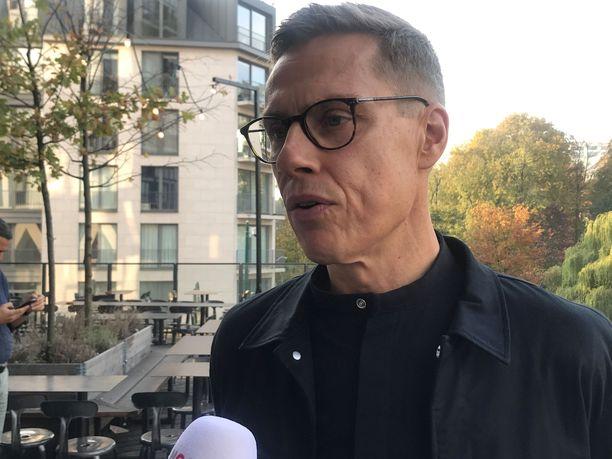Alexander Stubb vastasi Iltalehden kysymyksiin Brysselissä.