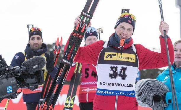 Henrik L'Abee Lund yllätti Holmenkollenilla.