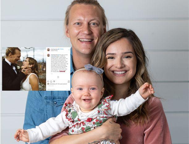 Jukka ja Chachi ovat olleet vuoden naimisissa. Heillä on yhteinen Sophia-tytär, joka syntyi viime vuoden marraskuussa.