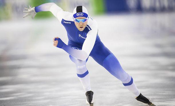 Mika Poutala nappasi uransa kolmannen palkintokorokesijan 1 000 metrillä.