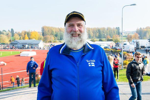 Juha Mieto oli katsomassa SM-maastoja Kurikassa syksyllä 2020.