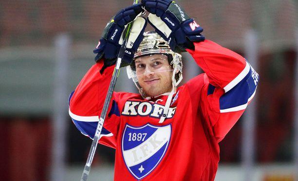 Eric Thorell palaa tänään HIFK:n kokoonpanoon.