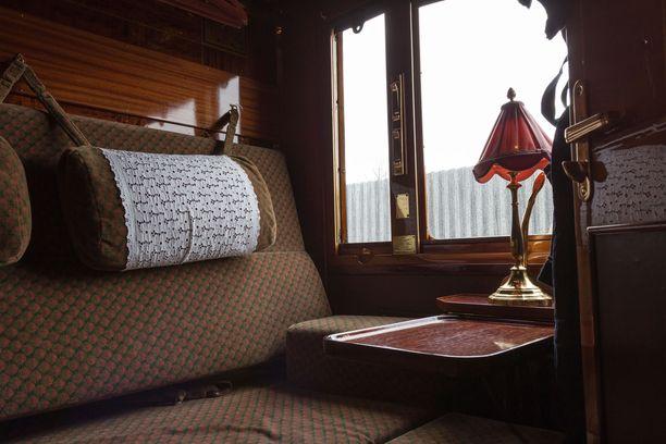 Venice Simplon-Orient-Expressin kyydissä aistii aitoa 1920-luvun tunnelmaa.