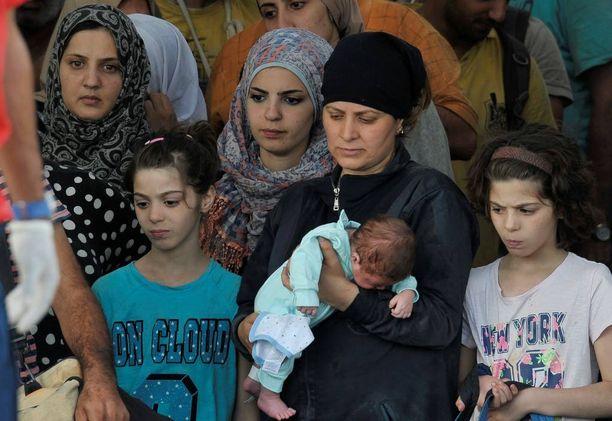 Eurooppaan saapuu vaarallista reittiä pitkin ihmisiä, jotka pakenevat sotaa ja vainoa muun muassa Syyriassa ja Libyassa.